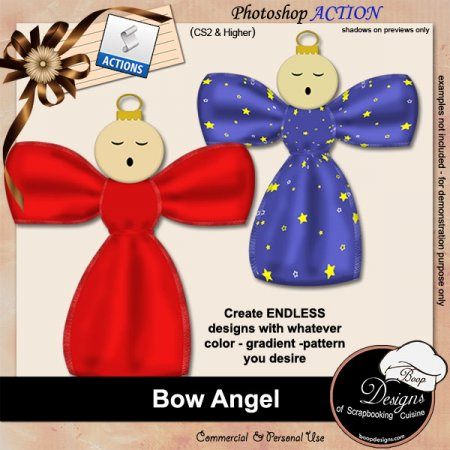 Bow Angel ACTION by Boop Designs