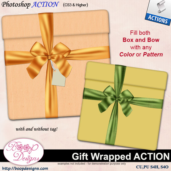 Gift Wrapped ACTION by Boop Designs