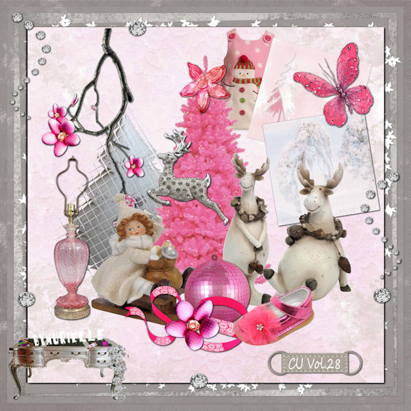 VOL 28 Christmas elements EXCLUSIVE byMurielle