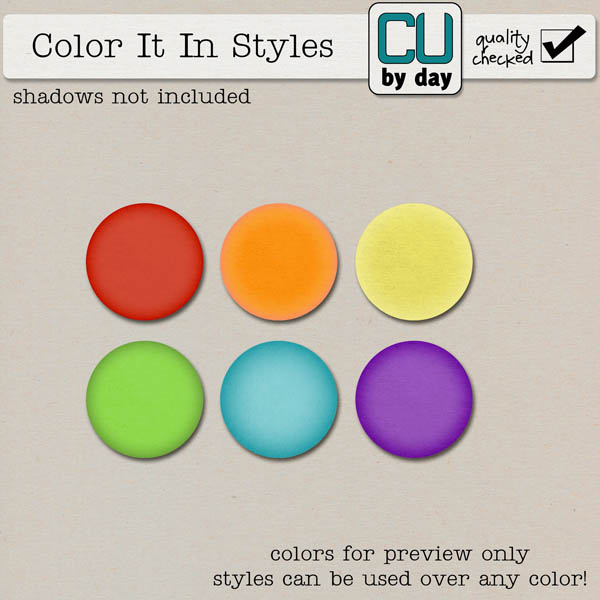 Color It In Styles - CUbyDay EXCLUSIVE
