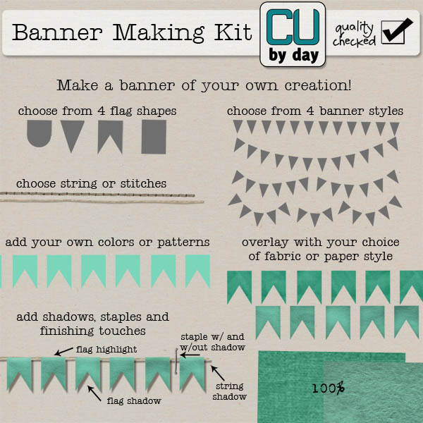 Banner Making Kit - CUbyDay EXCLUSIVE