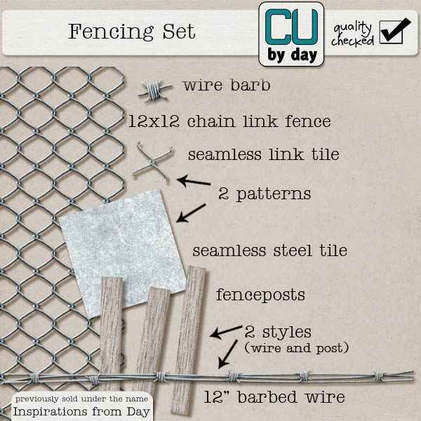 Fencing Set - CUbyDay EXCLUSIVE
