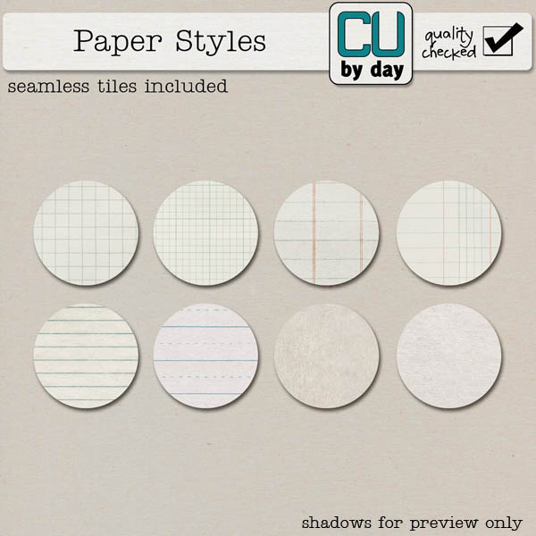 Paper Styles - CUbyDay EXCLUSIVE