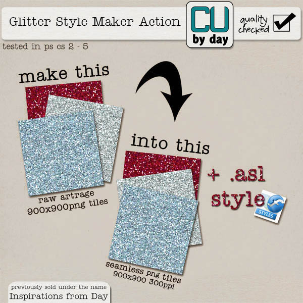 Glitter Style Maker - CUbyDay EXCLUSIVE