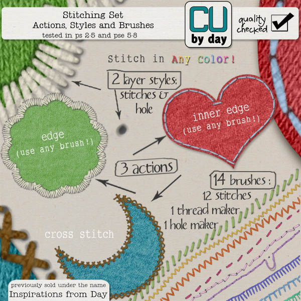 Stitching Set - CUbyDay EXCLUSIVE