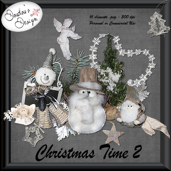 Christmas Time 2 by Doudou Design
