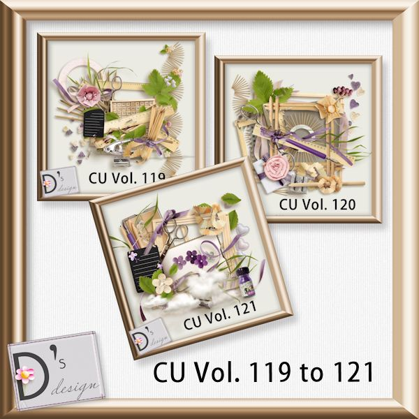 Vol. 119 to 121 Element BUNDLE by Doudou Design