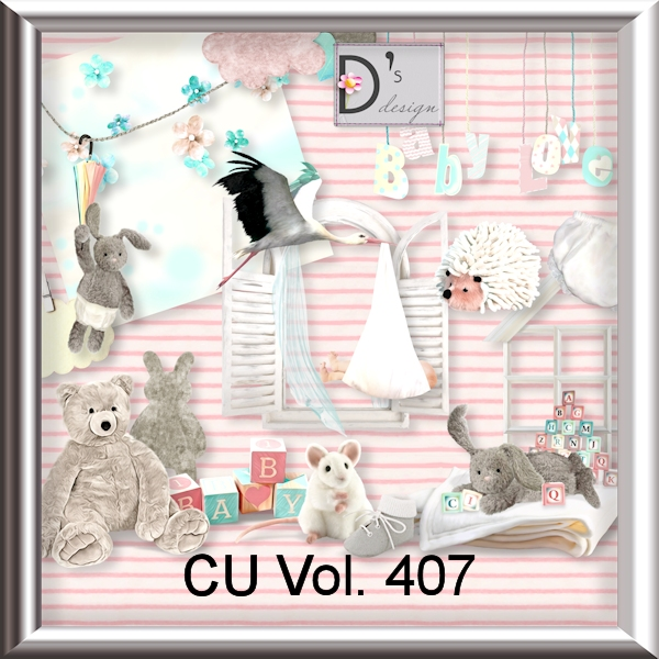 Vol. 407 Baby Mix by Doudou Design