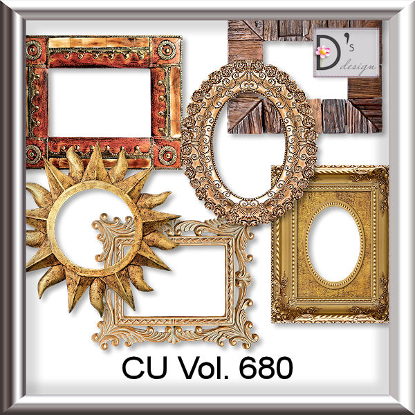 Vol. 680 Frames Set by Doudou Design