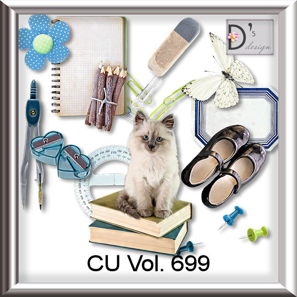 Vol. 699 School Mix by Doudou Design
