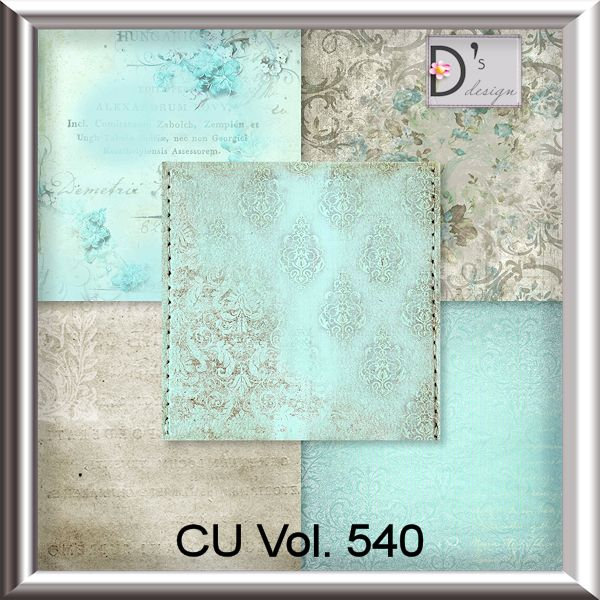 Vol. 540 Vintage Papers by Doudou Design