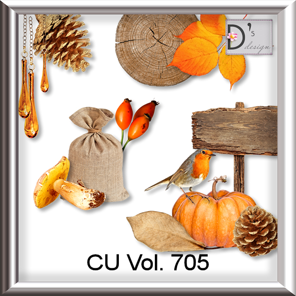 Vol. 705 Autumn Mix by Doudou Design
