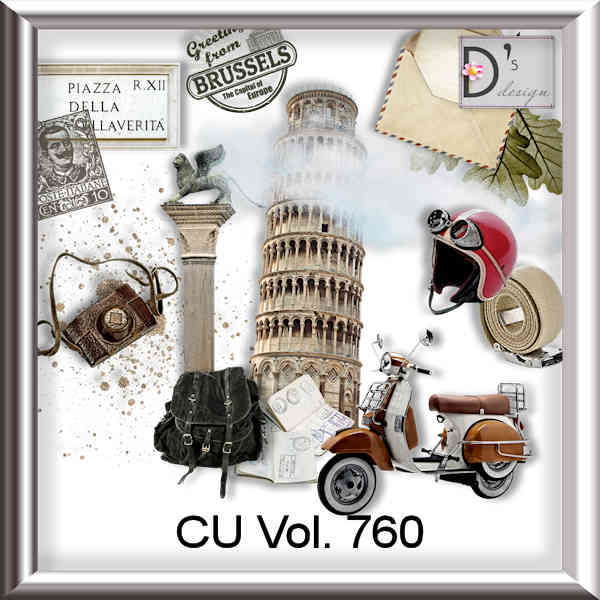 Vol 760 Travel World by Doudou Design