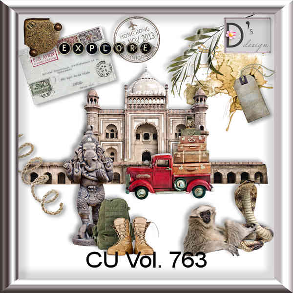 Vol 763 Travel World by Doudou Design