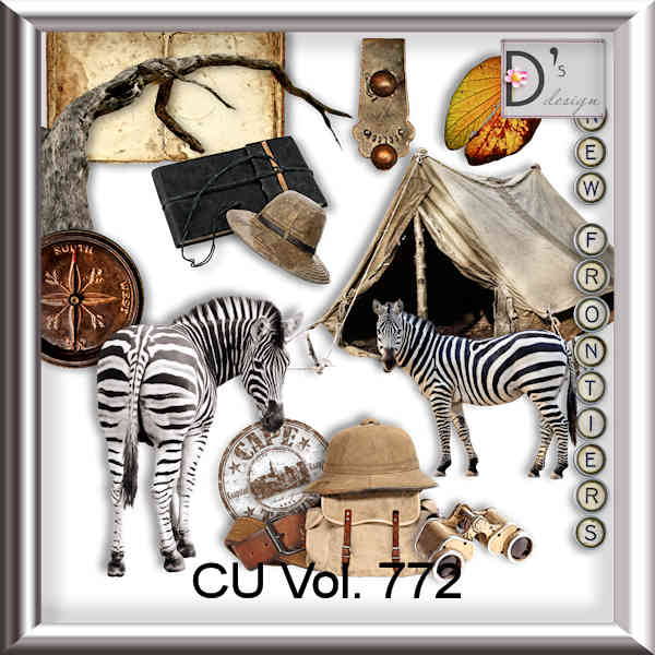 Vol 772 Travel World by Doudou Design