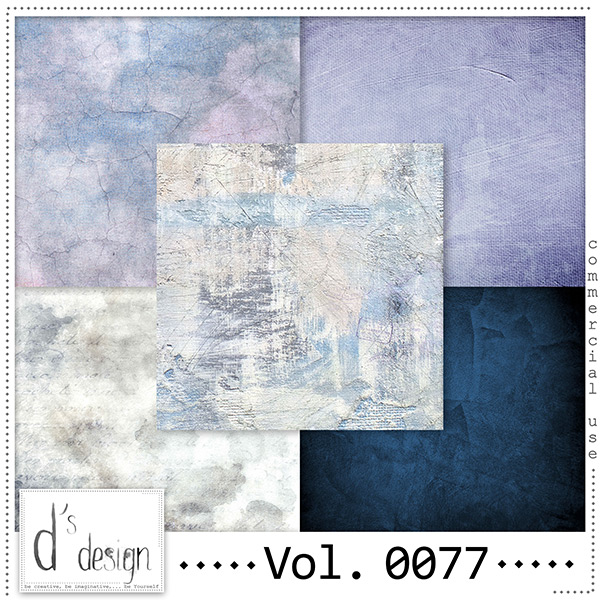 Vol. 0077 Grunge Vintage papers by Doudou Design
