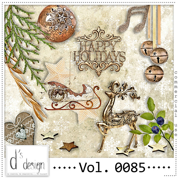 Vol. 0085- Christmas Mix by Doudou Design