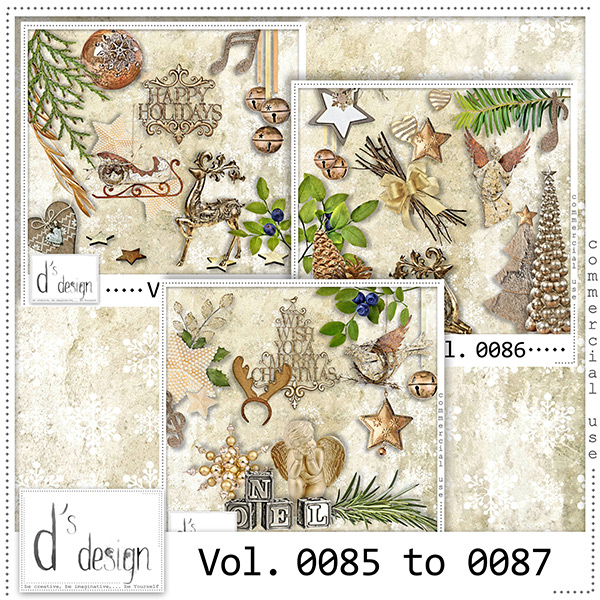Vol. 0085 to 0087 Christmas Mix by Doudou Design