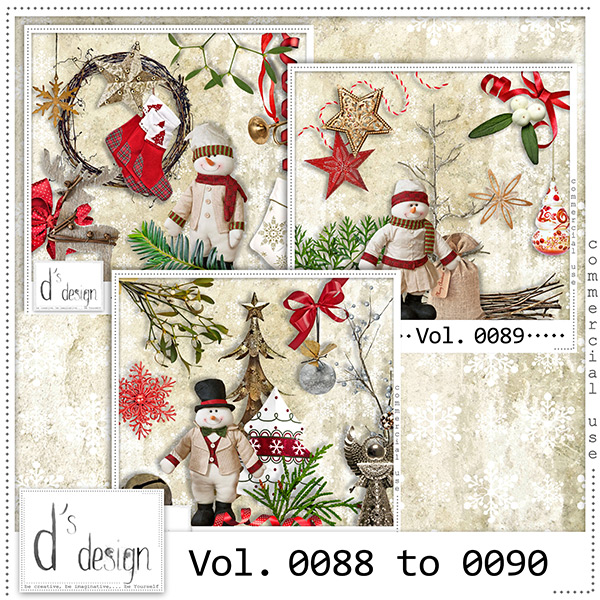 Vol. 0088 to 0090 Christmas Mix by Doudou Design