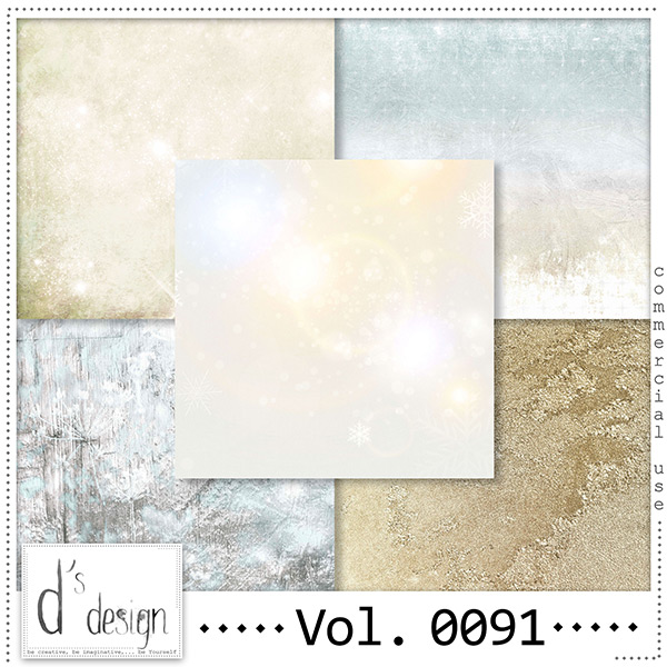 Vol 0091 Winter papers by Doudou Design