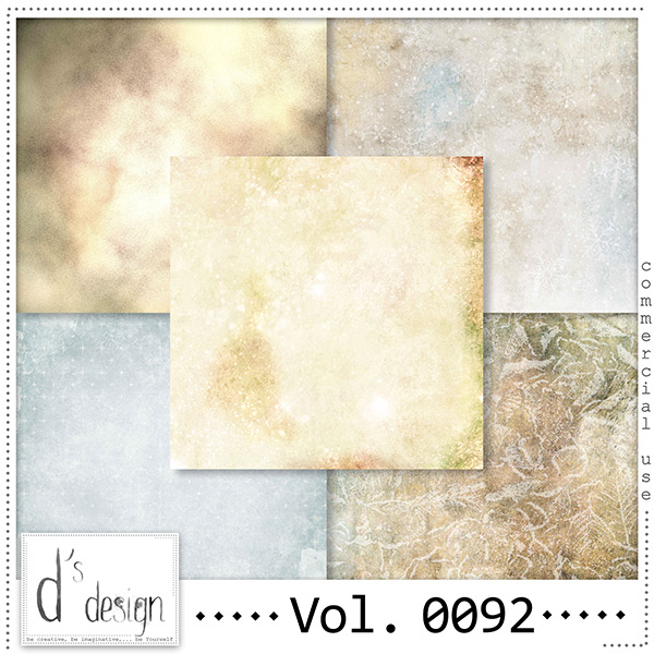 Vol 0092 Winter papers by Doudou Design