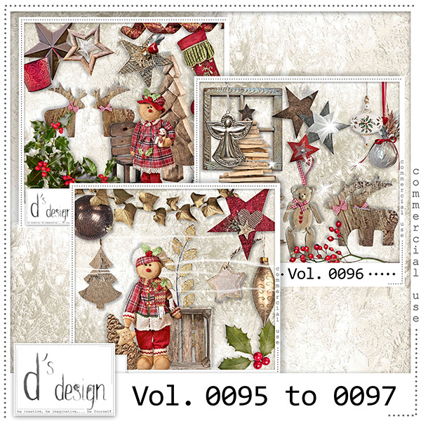 Vol. 0095 to 0097 Christmas Mix by Doudou Design
