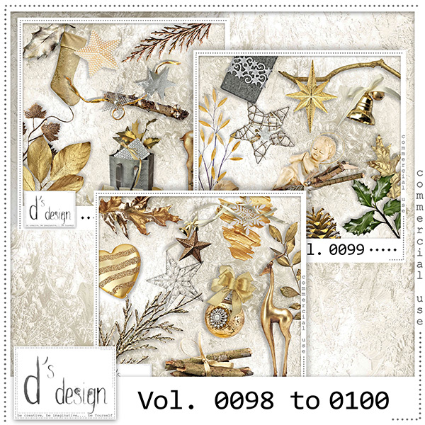 Vol. 0098 to 0100 Christmas Mix by Doudou Design