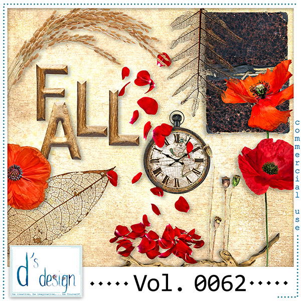 Vol. 0062 Autumn Mix by Doudou Design