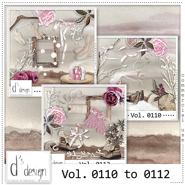 Vol 0110 to 0112 Winter Mix by Doudou Design