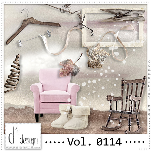 Vol 0114 Winter Mix by Doudou Design