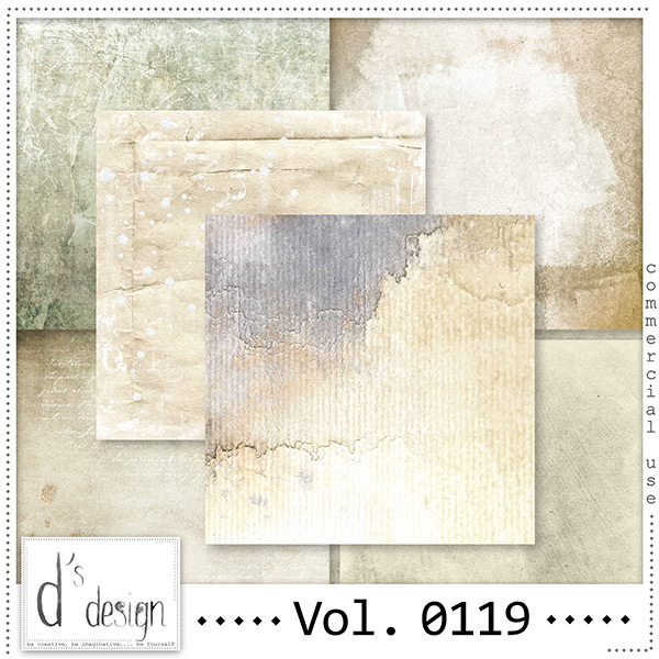 Vol. 0119 Vintage papers by Doudou Design