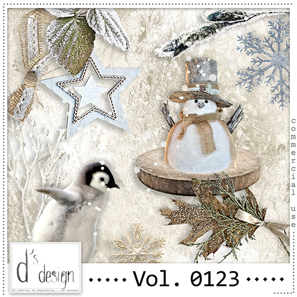 Vol 0123 Winter Mix by Doudou Design