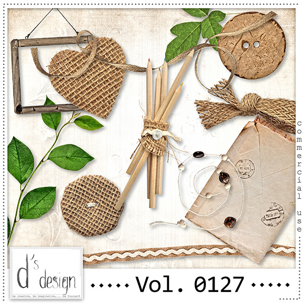 Vol. 0127 Natural Mix by Doudou Design