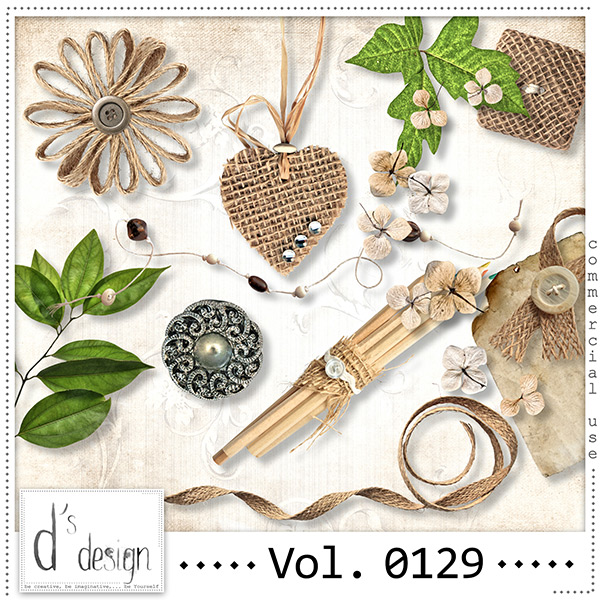 Vol. 0129 Natural Mix by Doudou Design