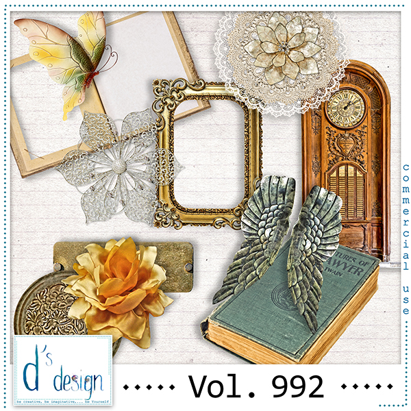 Vol. 992 Vintage Mix by Doudou Design