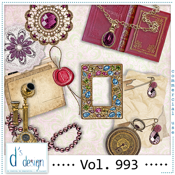 Vol. 993 Vintage Mix by Doudou Design