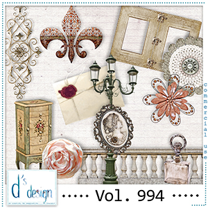 Vol. 994 Vintage Mix by Doudou Design