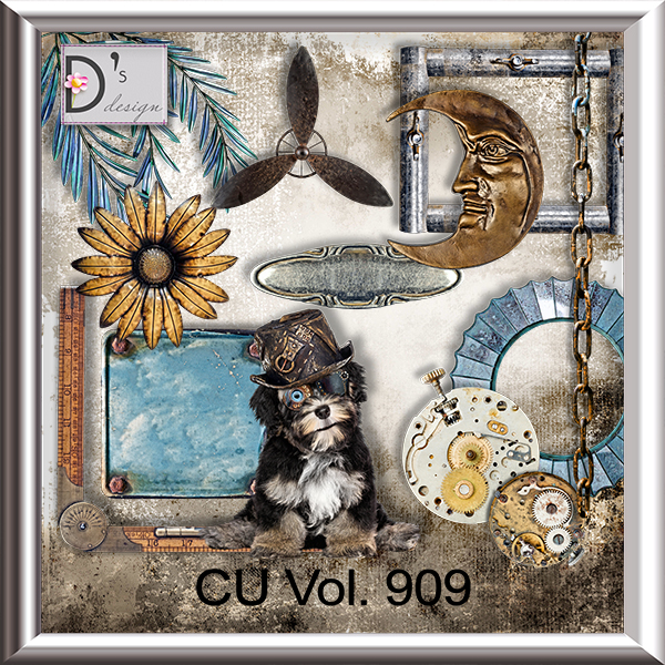 Vol. 909 Steampunk Mix by Doudou Design