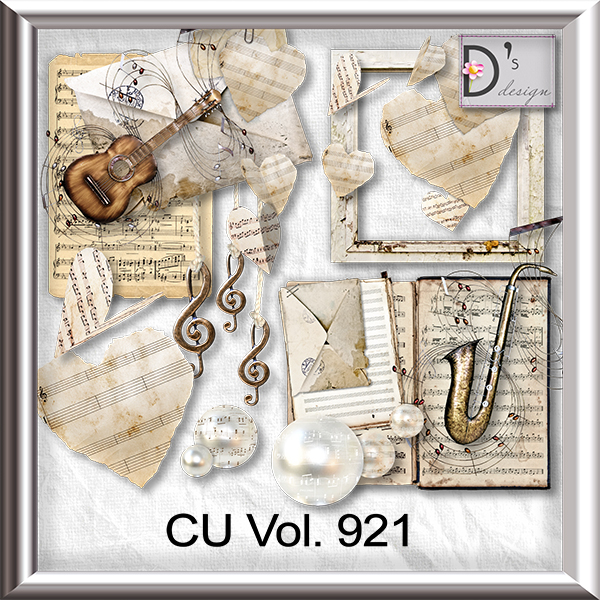Vol. 921 Music Mix by Doudou Design