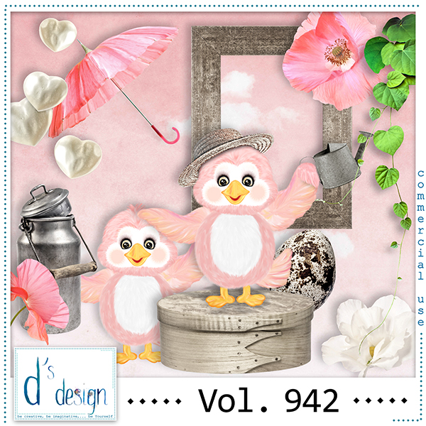 Vol. 942 Spring Mix by Doudou Design