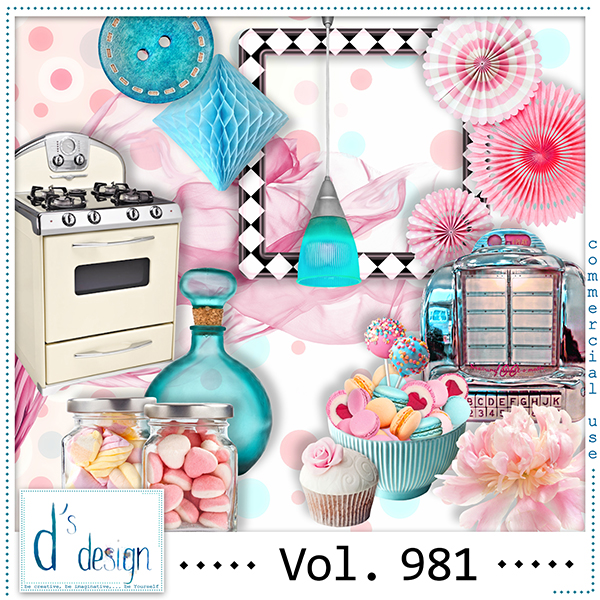 Vol. 981 Fifties Mix by Doudou Design