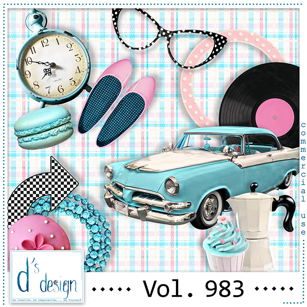 Vol. 983 Fifties Mix by Doudou Design