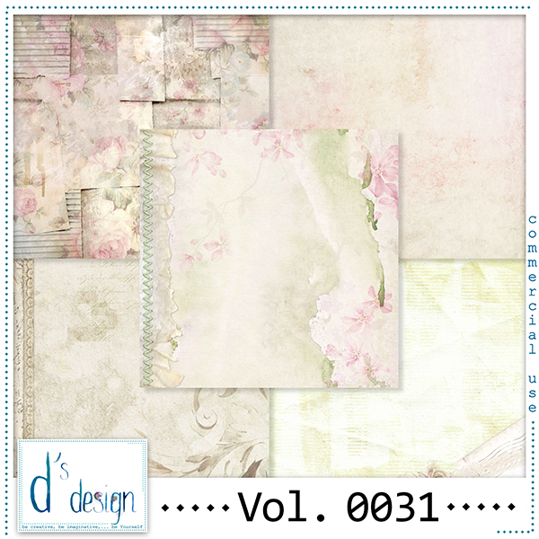 Vol. 0031 Vintage papers by Doudou Design