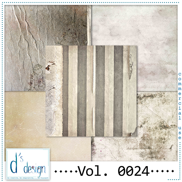 Vol. 0024 Vintage papers by Doudou Design