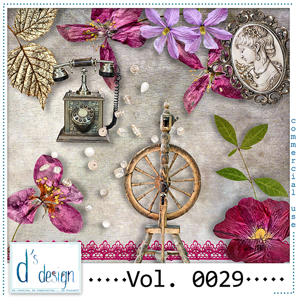 Vol. 0029 Vintage Mix by Doudou Design