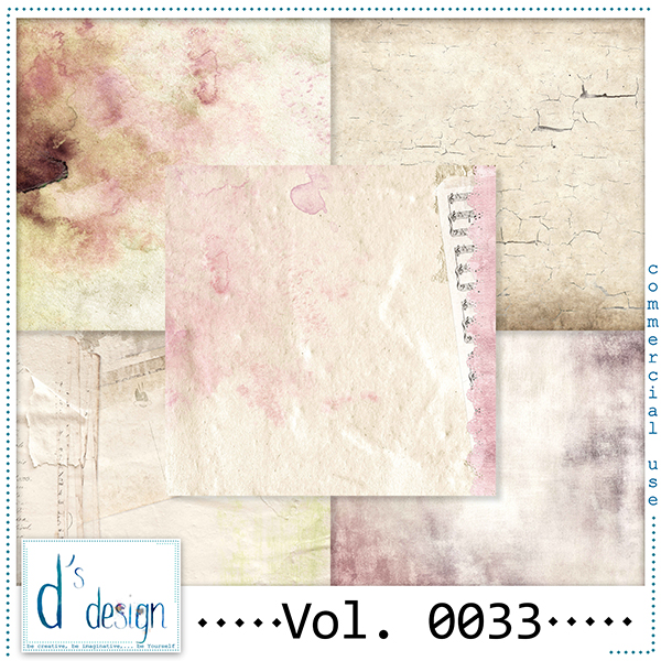 Vol. 0033 Vintage papers by Doudou Design