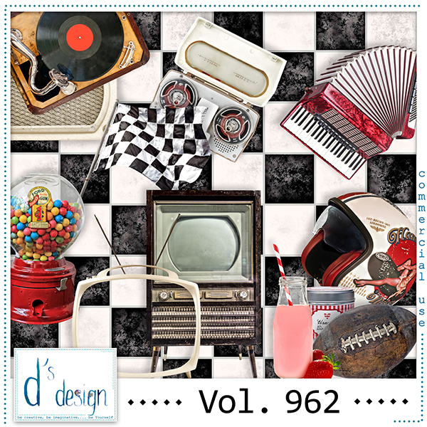 Vol. 962 Fifties Mix by Doudou Design