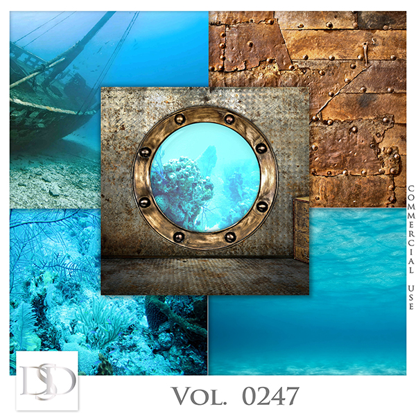 Vol. 0247 Steampunk Sea Papers by D's Design
