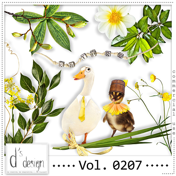 Vol. 0207 Nature Mix by Doudou Design