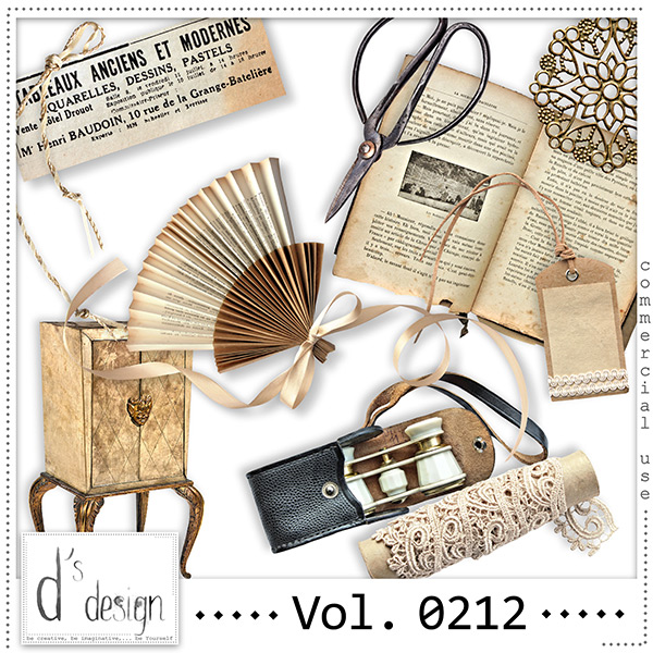 Vol. 0212 Vintage Mix by Doudou Design